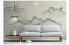 3D chinese ink landscape wall mural Wallpaper 104 Premium Non-Woven Paper-W: 320cm X H: 225cm