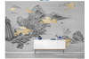 3D chinese ink clouds wall mural Wallpaper 103 Premium Non-Woven Paper-W: 525cm X H: 295cm