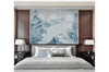 3D chinese ink landscape wall mural Wallpaper 101 Premium Non-Woven Paper-W: 210cm X H: 146cm