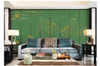3D line drawing chinese landscape wall mural Wallpaper 99 Premium Non-Woven Paper-W: 320cm X H: 225cm