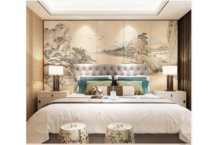 3D chinese ink landscape wall mural Wallpaper 97 Premium Non-Woven Paper-W: 420cm X H: 260cm