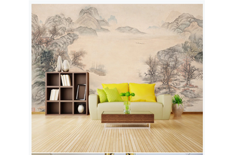 3D chinese ink landscape wall mural Wallpaper 95 Premium Non-Woven Paper-W: 420cm X H: 260cm