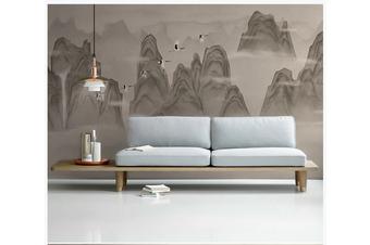 3D chinese ink landscape wall mural Wallpaper 94 Premium Non-Woven Paper-W: 320cm X H: 225cm