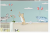 3D cartoon cats balloon wall mural Wallpaper 79 Premium Non-Woven Paper-W: 525cm X H: 295cm