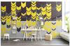 3D yellow arrow sign wall mural Wallpaper 79 Premium Non-Woven Paper-W: 525cm X H: 295cm