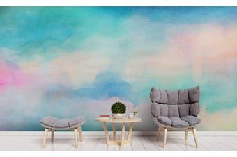 3D Watercolor Green Pattern Wall Mural Wallpaper 236 Premium Non-Woven Paper-W: 420cm X H: 260cm