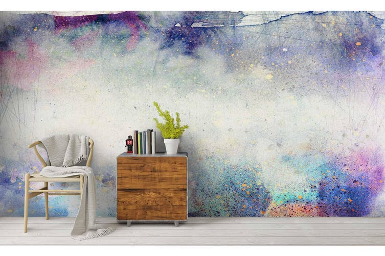 3D Watercolor Abstract Pattern Wall Mural Wallpaper 225 Premium Non-Woven Paper-W: 525cm X H: 295cm