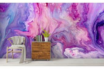 3D Watercolor Purple Pattern Wall Mural Wallpaper 214 Premium Non-Woven Paper-W: 525cm X H: 295cm