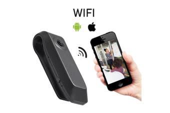Wi-Fi Hidden Body Camera, Mini Wireless High Definition Camera, 1920x1080P WiFi Body Cam for Home, Sport, Office, Mini Sport DVR and Car Dash Camera