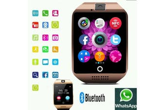 New Release Curved Shape Smartwatch Bluetooth phone for iOS iPhone, Samsung Android Smart Watch, Pedometer Analysis, Selfie, Sedentary Reminder, Sleep Monitoring, Anti-lost, Takes Photos etc