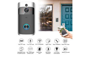 2.4GHz Wi-Fi Smart Wireless Security Video HD Wifi Doorbell, Supports iOS & Android