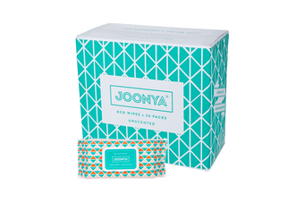 Joonya, Nontoxic Baby Wipes, 24 Packs of 80 (1920) Wipes