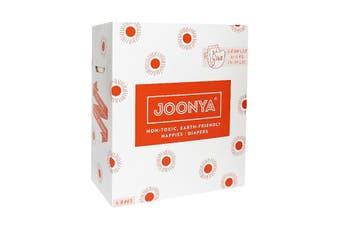 Joonya Nontoxic Baby Nappies- Crawler Size (6-11 kg) - 3 Bags of 56 (168) Nappies