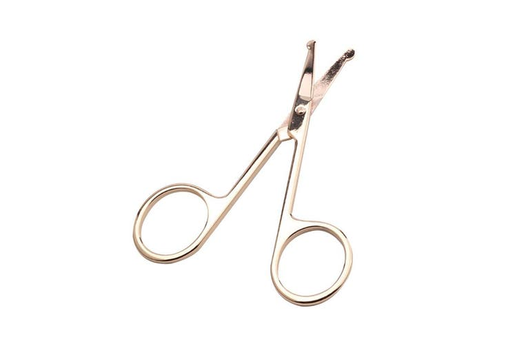 Makeup Scissors Small Nose Hair Cut Manicure Make-up Eyebrow With Round Head