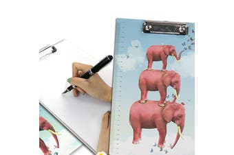 A4 Cartoon Clipboard Stationery Clip Paper Folder Board Drawing Writing Pad (Style 3)