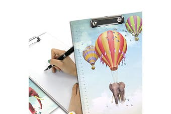 A4 Cartoon Clipboard Stationery Clip Paper Folder Board Drawing Writing Pad (Style )4