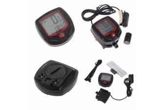 Digital LCD Waterproof Bicycle Bike Computer Speedometer Odometer Stopwatch