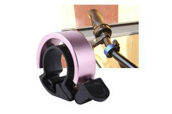 90db Fashion Bike Bell Aluminum For 22.2-22.8mm Handlebar (Pink)