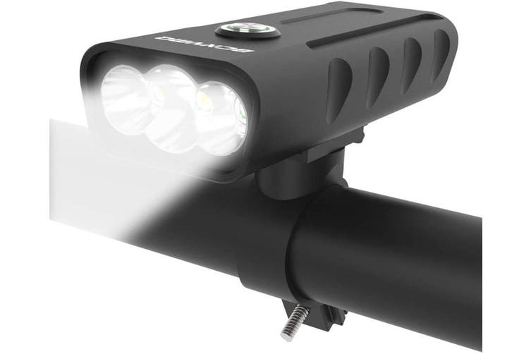 10 Hours Built in Battery Bicycle Headlight Waterproof Accessories Aluminum Alloy Cycling Light Safety Flashlight USB Rechargeable Bike Light Front