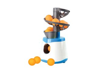 15pcs/min Ping Pong Table Tennis Robot Automatic Ball Launcher Machine for Kids Grown-up Professional Athletes Students Beginners Training