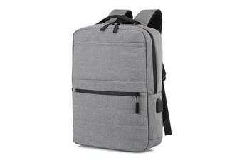 Flamehouse 17 inch Laptop Bag with USB Charging Waterproof School Backpack Unisex