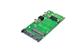 SATA 22PIN to mSATA Interface mSATA SSD PCI-E Expansion Card 6Gbps for Desktop Computer
