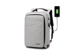 15.6 inch Laptop Bag with USB Charging Port Earphone Port Anti-Theft Travel Business Backpack Waterproof Oxford Multifunctional Unisex