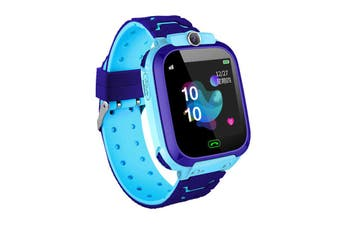 Q12B GSM SIM Smart Watch Phone Touch Camera Locator Alarm Anti-lost for Kids Children