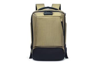 15.6 Inches Large Capacity USB Charging Anti-theft Male Student Business Laptop Bag