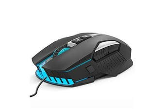 MMR8 Wired Mechanical Gaming Mouse USB LED Desktop Computer Optical Gamer Mice For Laptop PC Computer