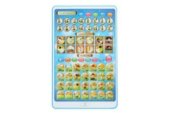 Arab Toddler Laugh Learn Toys Tablet Child Baby Smart Stages Arabic Alphabets