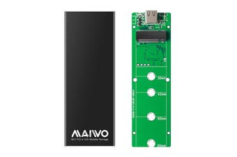 K1688P Aluminum Alloy Type-C to M.2 M-Key NVMe SSD Hard Drive Enclosure