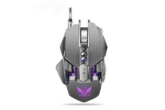 X300GY Mechanical Macros Define Gaming Mouse 250-4000 DPI 7 Keys USB Wired Optical Mouse