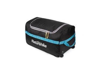 85L Portable Folding Suitcase Luggage Storage Bag Travel Wheel Duffle Organizer Pouch