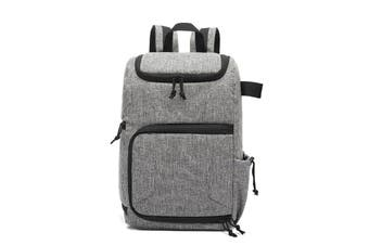 PU Waterproof Camera Bag Photography Backpack Travel Pouch Bags GRAY