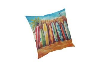 2 Pcs 45x45cm Home Decoration Colorful Beach Patterns Cotton Linen Pillow Case Sofa Cushion Cover