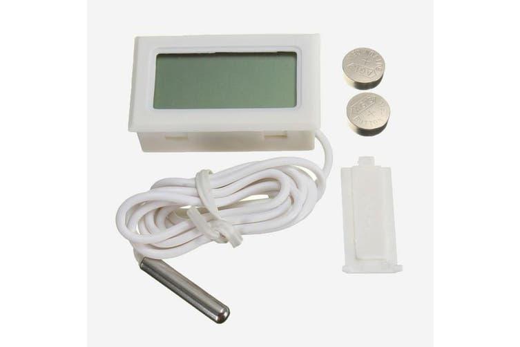 Fish Tank Fridge Incubator Digital Probe Embedded Thermometer