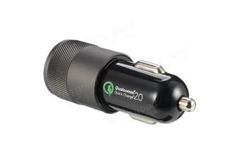 QC3.0 Dual USB Car Charger 12V 2.1A 1A For iPhone 4 5s 6 6 Plus Ipad 3 4 Samsung Galaxy S4 S5