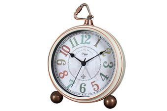 "5"" Clock Bedroom Creative Clock Retro Mute Alarm Clock Wall Clock American Table Clock"