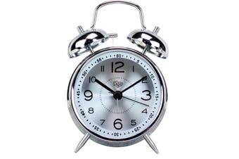 "4"" Creative Alarm Clock Mute Luminous Electronic Alarm Quartz Alarm Clock Ringing Clock"
