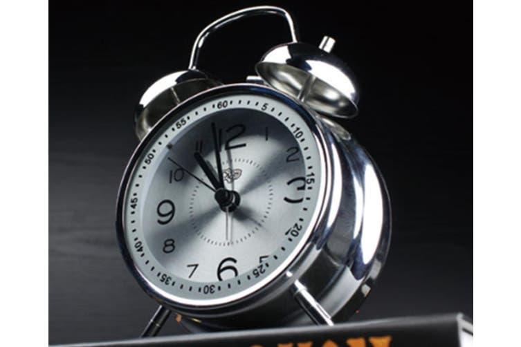 """4"""" Creative Alarm Clock Mute Luminous Electronic Alarm Quartz Alarm Clock Ringing Clock"""