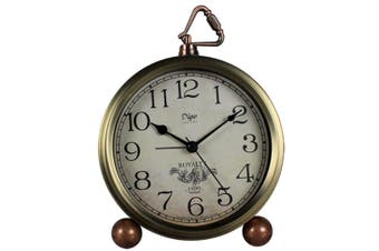 "5.5"" Bedroom Living Room Retro Alarm Clock European Bedside Clock Creative Seat Clock"