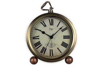 "5.5"" Bedroom Living Room Retro Alarm Clock European Bedside Clock Creative Desk Clock Wake Up Alarm Clock"