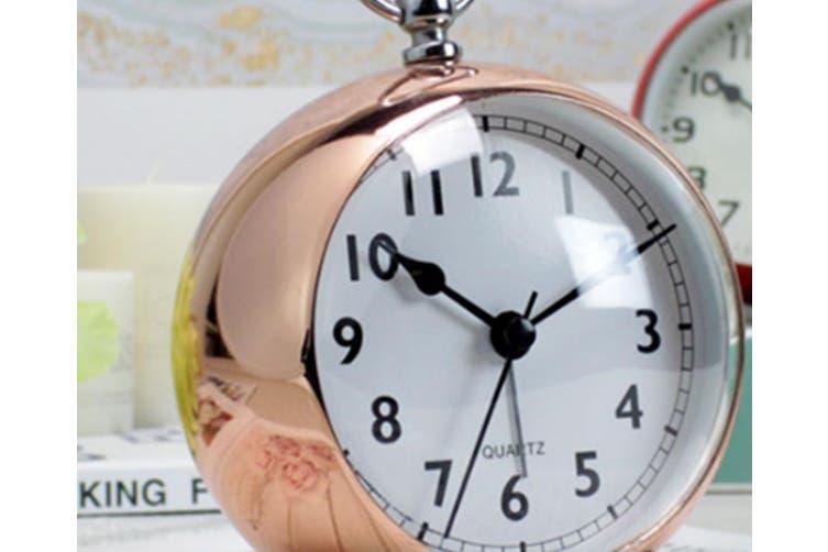 "4"" Luminous Home Bedroom Living Room Clock Modern Minimalist Clock Mute Wall Clock"