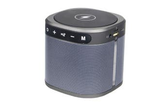 JunChang Outdoor Mini Portable Wireless Bluetooth Speaker Phone Charging Dock Music Player Subwoofer-Blue