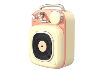 JunChang Creative Wireless Bluetooth Speaker Mini Portable Retro Small Sound Suitable for Outdoor-Yellow