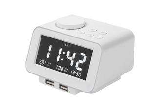 JunChang Multifunctional Electronic Alarm Clock Creative Digital Smart Bedside Alarm Clock Radio Suitable For Bedroom