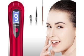JunChang Household LCD Screen Freckle Pen Beauty Pen Facial Beauty Laser Instrument with Spotlight