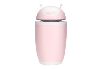 JunChang 500ml Large Capacity Astronaut Humidifier USB Desktop Mini Humidifier Home Air Conditioner Indoor Air Purifier-Pink