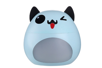 JunChang 200ml Mini USB Cute Pet Humidifier Home Mute Bedroom Air Conditioning Room Office Air Spray Instrument-Blue